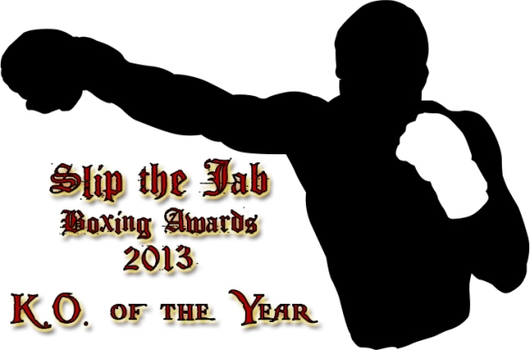 KO of year awards 2013